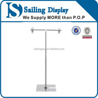 Table top vertical outdoor advertising display stand