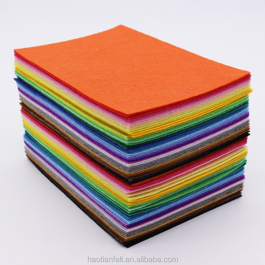 felt material Factory offer various felt nonwoven fabric industrial needle polyester felt