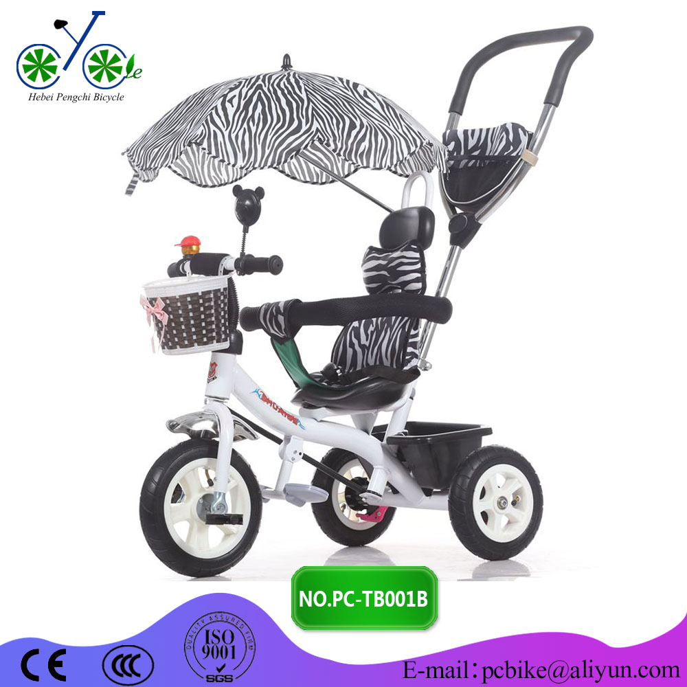 Baby Tricycle With Trailer/ canopy/roof/sunshade for sale
