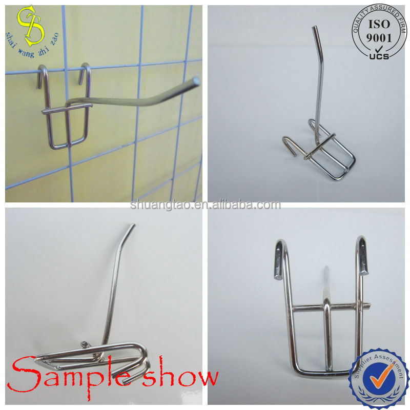high quality security display pegboard hooks factory price