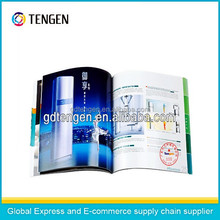 High quality overseas postcard book printing with barcode-B007