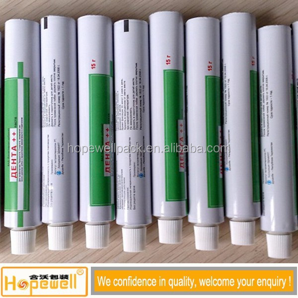 Medicine Laminated Tubes For Scald Ointment