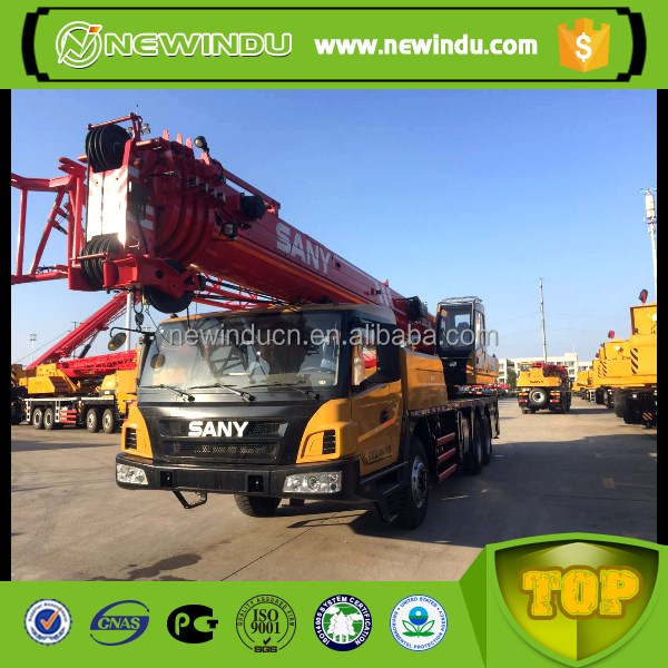 SANY STC800 truck crane selling a used crane truck used cargo crane truck
