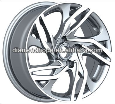 ZW-P607 new design concave aluminum car wheel