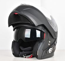 BM2-S Bluetooth Helmet with built-in speakers and microphone matte black