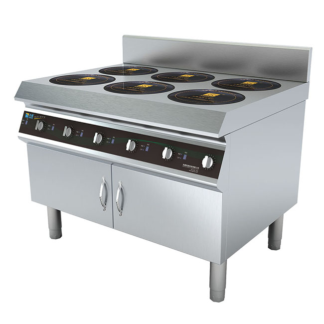 Multi-function 6 burners commercial induction cooker for kitchen <strong>appliance</strong>