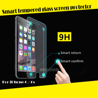 Newest 0.26mm 2.5D Magic Touch Smart Tempered Glass Screen Protector for iPhone 6, with Smart Return & Confirm Function