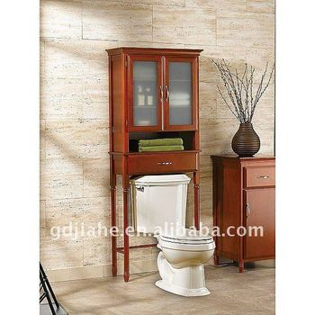 2016 new design MDF space saver modern toilet space saver