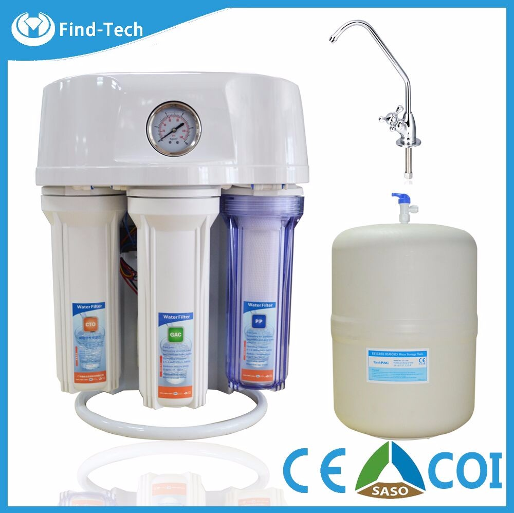 TWO LED lights natural alkaline 6 stage deionized water ro system water purifier price remove heavy metal