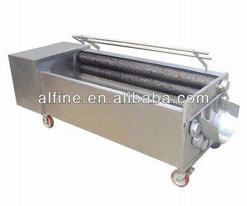 2016 Hot sale sand roller grinding vegetable peeling machine for carrot, potato,kiwi fruit