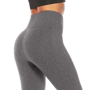 Customize the length yoga leggings soft stretch jersey fitness leggings for women