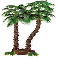 Most realistic top sales decorative artificial outdoor trees for garden landscaping with reasonable price palm trees