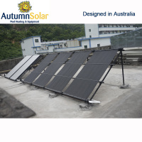 Plastic swimming pool water solar heater for commerical pool