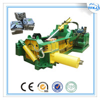 Y81F-125 Small safe operation metal baler hydraulic scrap metal bale press machine (Factory price)