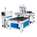 High precision 3 axis wood CNC carving router woodworking machinery with vacuum table for sale in jinan