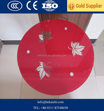 High quality round, oval, square, rectangle table top glass