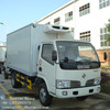 made in china dongfeng refrigerator van truck for meat and fish