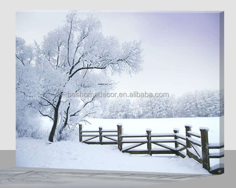 wall mounted picture light,snow scenery led wall light,winter led light