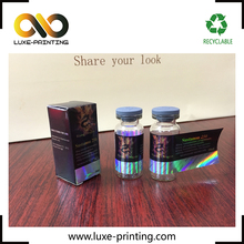 Medicine usage machine laser hologram anti-fake 10ml vial labels