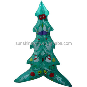 Christmas Tree Gift Boxes Air Blown Inflatable Yard Party Decoration