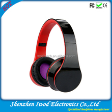 2014 new fashion foldable mix-style mp3 headphone for sports running