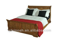 "4'6"" French Style Sleigh Bed (VH20)"