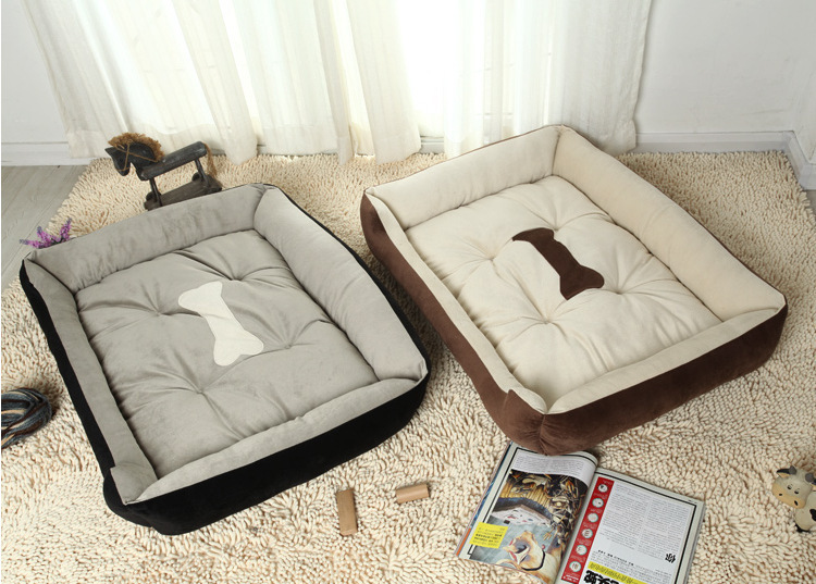 Ultra Pet Bed Pet Sofa Lovely Pet House Fits for Dogs Cats and Small Animals Coffee Black Color 6 Sizes Available