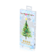Free Sample PP PVC PET Christmas Packaging Box, Custom Logo Decorative Christmas Gift Box Set Wholesale