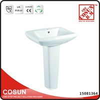 Used Pedestal Sink Rectangular Surgical Wash Basins
