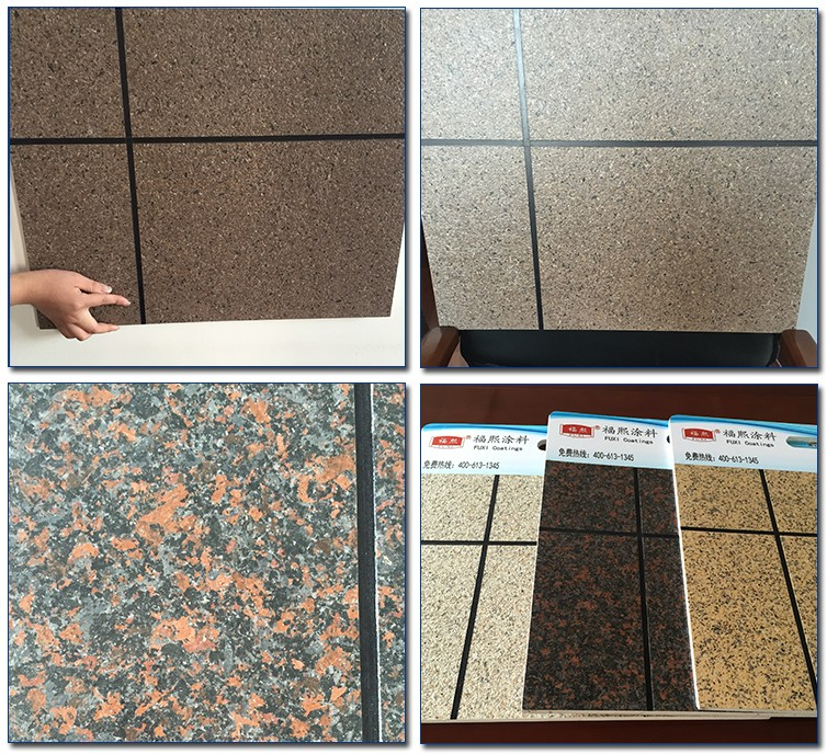 Exterior Surface Decorative Texture Wall Liquid Granite Stone Spray Paint