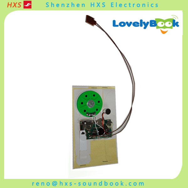 Battery Operated Voice Recording Module For Greeting Card