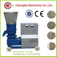 roller rotation flat die hay straw empty fruit branch pellet mill