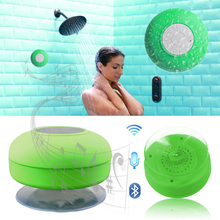Hot Sale !!! Waterproof Bluetooth Speaker With Suction Cup