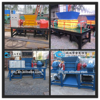 China used rubber tires recycling machines / waste tire shredding plant/ shredder machine with factory price