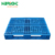 Heavy duty flat top deck single face 100% virgin HDPE stackable plastic pallet