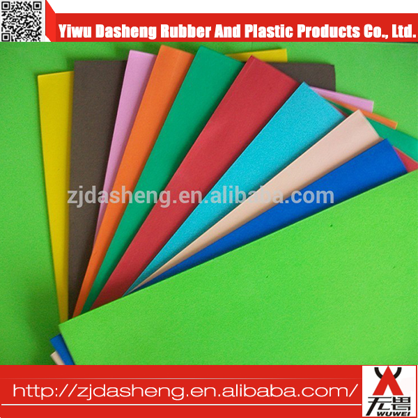 High Quality Color Eva Foam Sheet / Printed Eva Foam Sheeteva / Foam Sheet 10mm