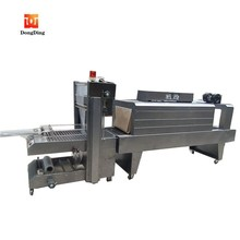 Nice type pneumatic driven plastic film shrink wrapping machine price