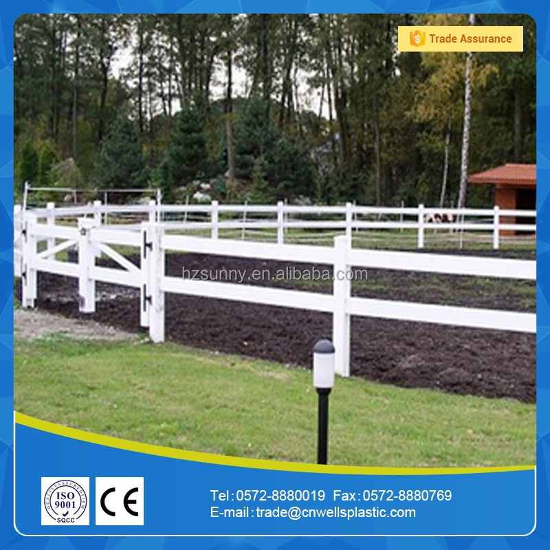 Vinyl fencing post and rail buy pvc fence cheap