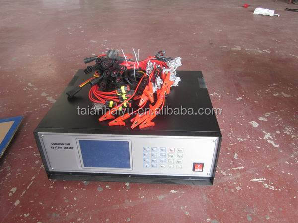 HY-CRS3 Common Rail Injector and Pump Tester for testing 6 injectors meanwhile
