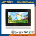 7'' industrial open frame monitor I/O customized