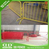 portable temporary fencing / cross base safety traffic barrier / portable road barrier fence
