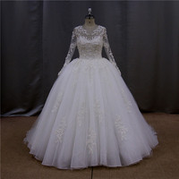 Chinese style hight neck new model 2012 wedding dresses