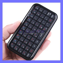 Smallest Size Portable 2.4G Wireless Bluetooth Handle Keyboard For iPad Air