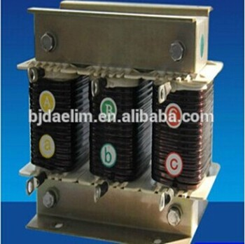 Dry-Type Core Series Reactor electrical power reactors made in china