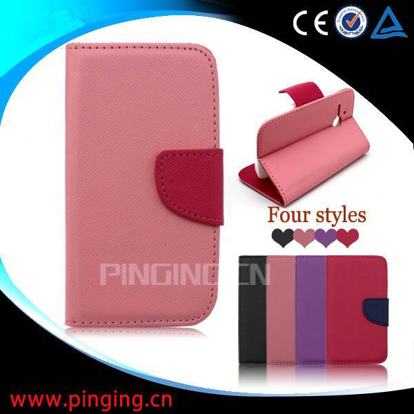 for Alcatel Nextel V45 case, wallet leather mobile phone cover for Alcatel Nextel V45