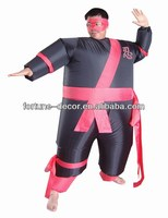 Party Costume inflatable warrior costume for men