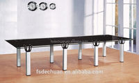 Classic office furniture 6 people meeting room conference table