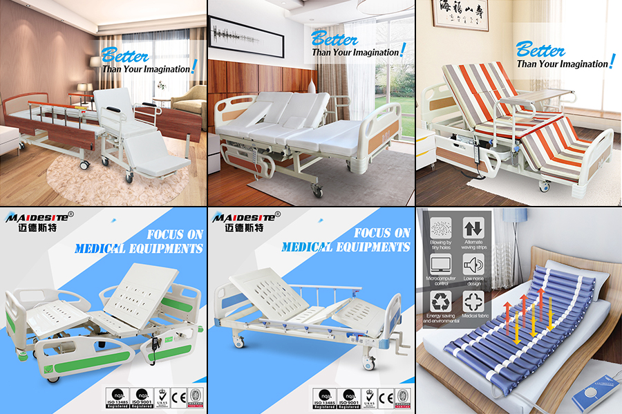 M08 Adjustable three functions hospital bed for sale philippines Malaysia Asia .jpg