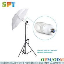 45W Energy Saving Tri-BAND Spiral CFL Photo Fluorescent Spiral Daylight Light Bulbs for Photo and Video Studio Lighting 4 Pack
