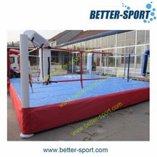 fighting boxing ring for gym and competition
